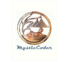 MysticCoder Logo &  Clear Amulet Art Print