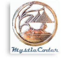 MysticCoder Logo &  Clear Amulet Metal Print