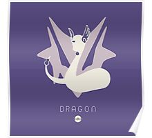 Pokemon Type - Dragon Poster