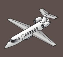 Business Jet for the 1% in all of us... Baby Tee