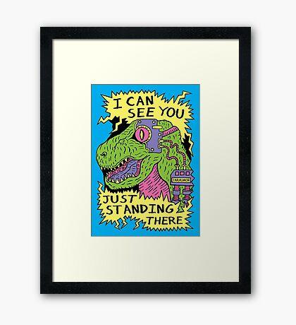 Eye Rex Framed Print