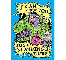 Eye Rex Photographic Print