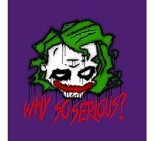 Joker Graffiti (Colour) Photographic Print