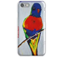 """Rainbow Lorikeet"" by Anna Bartlett iPhone Case/Skin"