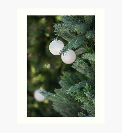 Christmas Bauble Art Print