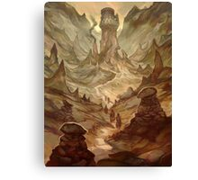 Earth Cult Temple Canvas Print