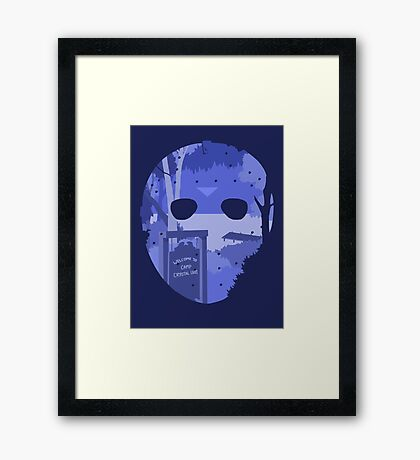 Jason Voorhees - Friday the 13th Framed Print