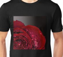Red Rose macro 2 Unisex T-Shirt