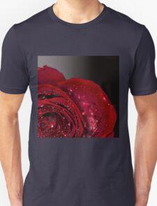 Red Rose macro 2 Unisex T-Shirt