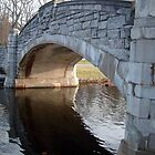 Verona Park Bridge, Verona Lake, Verona NJ, USA by Jane Neill-Hancock