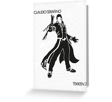 Claudio Greeting Card