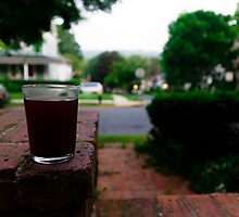 Sipping on the porch by Gservo