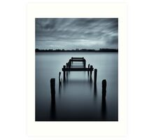 The Old Jetty Art Print