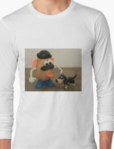 Mr Potato Head and his doggy  Long Sleeve T-Shirt