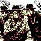 RUN DMC by OTIS PORRITT