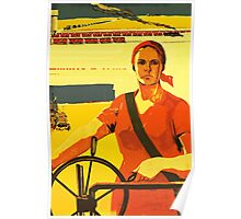 Food for all of us - Soviet union propaganda poster  Poster