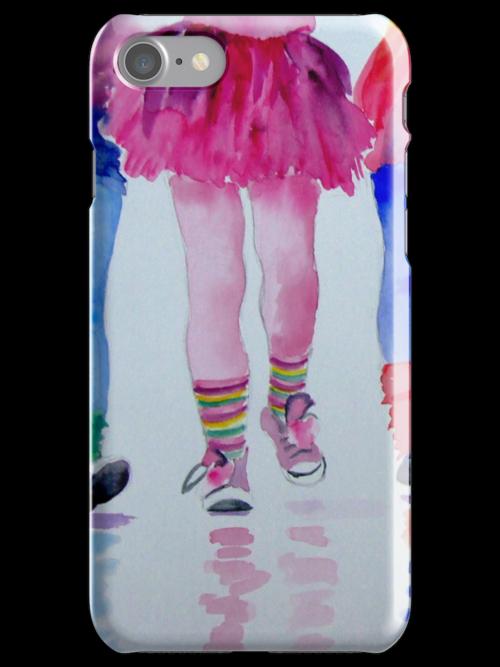 Fun Legs iPhone case by Ruth S Harris