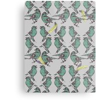 Little Birds Metal Print