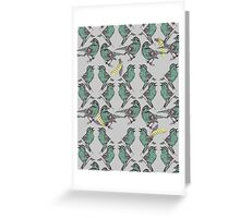 Little Birds Greeting Card