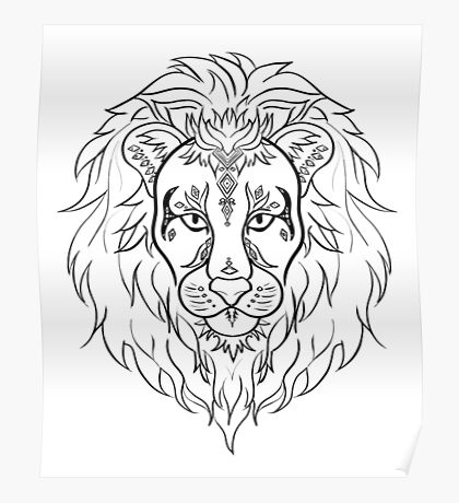 Lion Poster