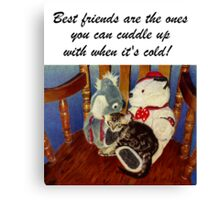Rocking With Friends - Art Prints & Greeting Cards Canvas Print
