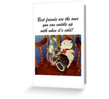 Rocking With Friends - Art Prints & Greeting Cards Greeting Card