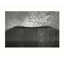 Walkie Talkie Building - Architecture Study Art Print