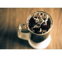 Cold Brewed coffee of doom  Photographic Print