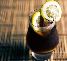 Cold Brewed coffee with lemon by Gservo
