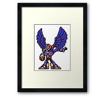 Storm Eagle Framed Print