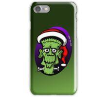 Christmas Frankenstein iPhone Case/Skin