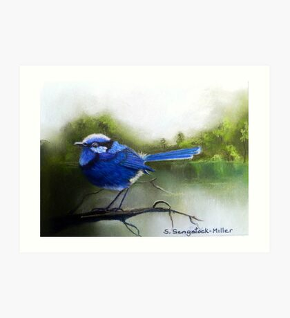 Early Morning Chatter  Sold Art Print