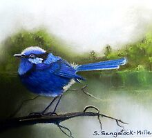 Early Morning Chatter  Sold by sandysartstudio