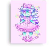 Kuma Kuma Doll~ Canvas Print