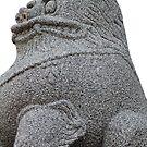 Stone Animal, Bulguksa, Geongju, Korea by Jane McDougall
