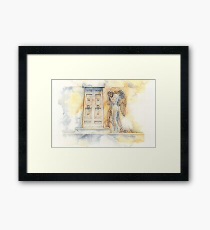 Angel at the Gate Framed Print