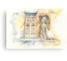 Angel at the Gate Canvas Print