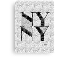New York , New York, Deco Swing Canvas Print