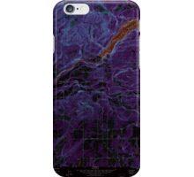 USGS Topo Map Washington State WA Ariel 239849 1971 24000 Inverted iPhone Case/Skin