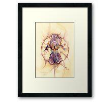 Naples Iris Framed Print
