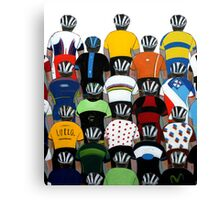 Maillots 2015 Shirt Canvas Print