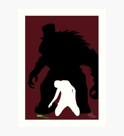 Dr Jekyll and Mr Hyde! Minimalism / pop art inspired Art Print