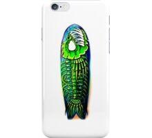 Evil Fish Surfboard 1 iPhone Case/Skin