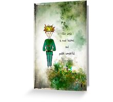 Ginkelmier Land ~ Ginkelmier and Frog ~ Mud luscious and Puddle Wonderful Greeting Card