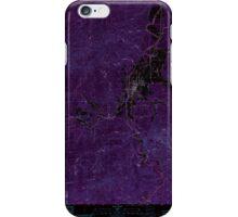 USGS Topo Map Washington State WA Pe Ell 243109 1986 24000 Inverted iPhone Case/Skin