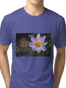 Given Strength Tri-blend T-Shirt