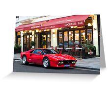 Ferrari 288 GTO Greeting Card