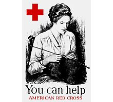 You Can Help American Red Cross Photographic Print