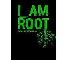 I AM ROOT Photographic Print