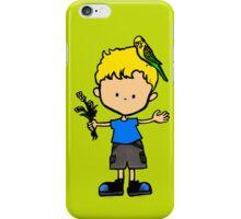 Budgie Boy Z iPhone Case/Skin